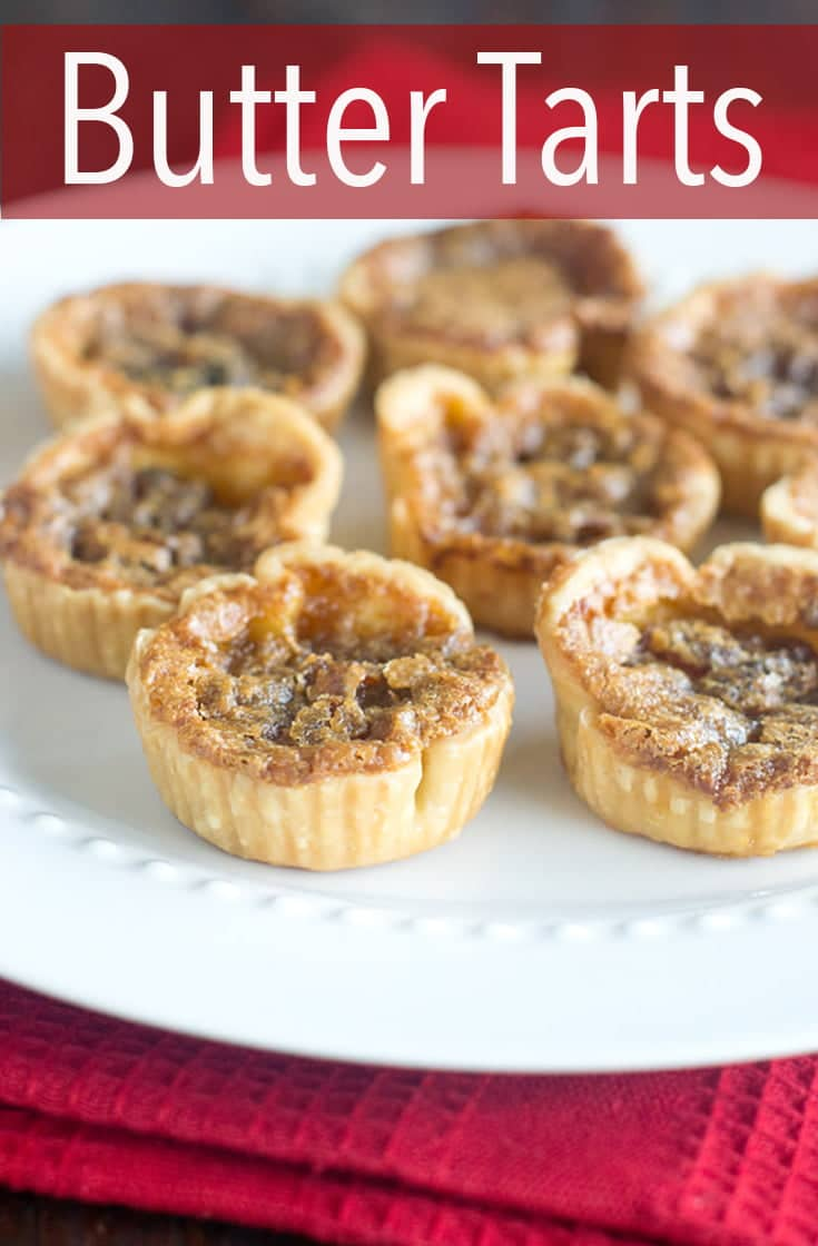 Want to learn how to make a quintessential Canadian treat? Butter Tarts are decadent, delicious and a surprisingly easy addition to anyone's holiday dessert tray. #dessert #christmascookie #holidaycookie #cookierecipe