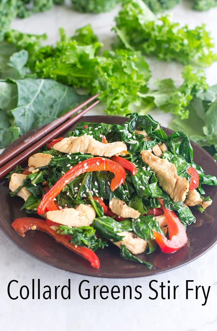 Collard Greens Stir Fry