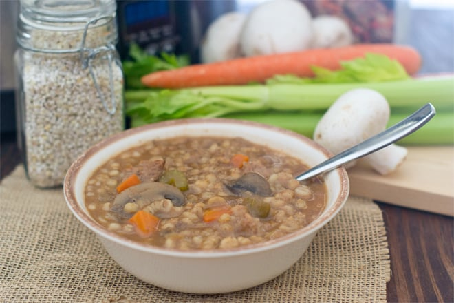Beef Barley Soup is a classic. Get the recipe for making it on the stove and in the slow cooker. Also, find out if you should brown your meat before making the soup. Is the flavor difference worth this extra step?