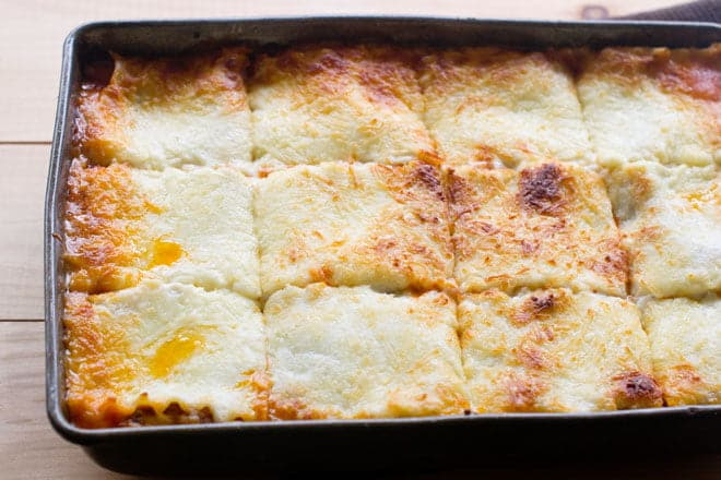 Learn how to make the best lasagna and get lots of lasagna tips along the way.