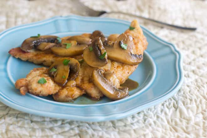 Learn how to make the restaurant classic Chicken Marsala at home. It's so delicious and you won't believe how easy it is to make.