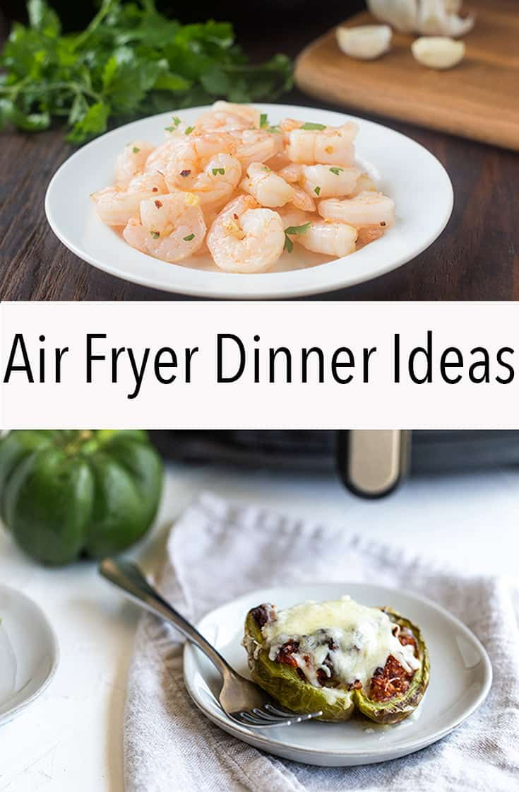 These airy fryer dinner ideas make preparation short so you can get food on the table more quickly. You won't believe how easy and tasty these are.