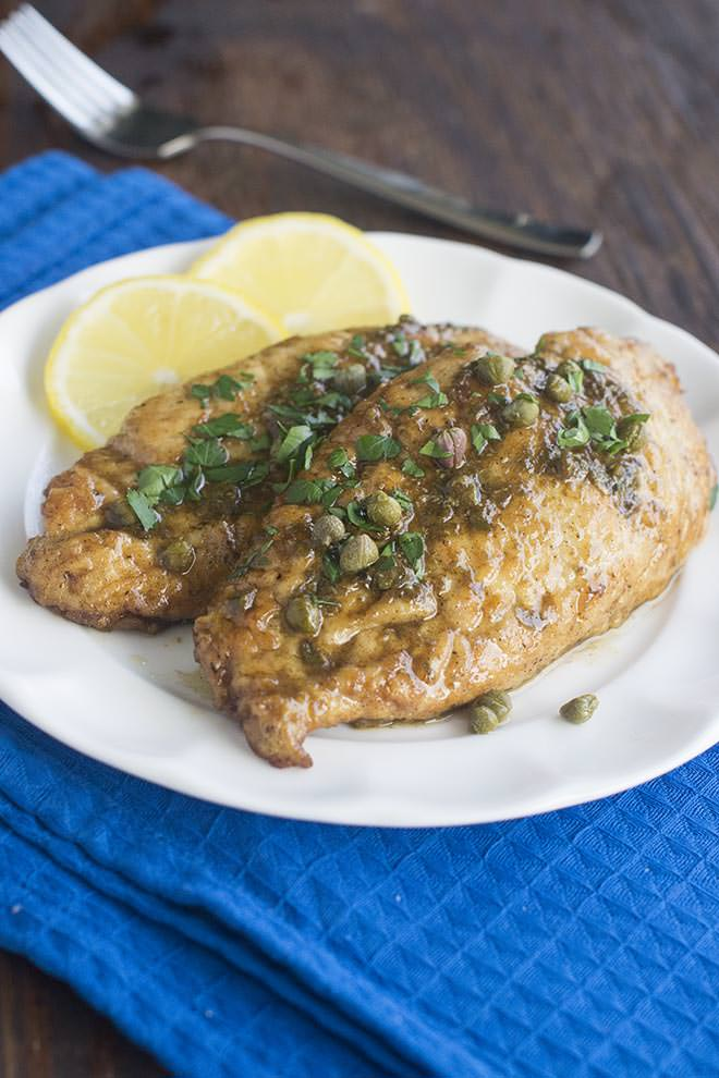 Chicken in a rich lemon butter sauce? That's right...it's Chicken Piccata time. Who's in?