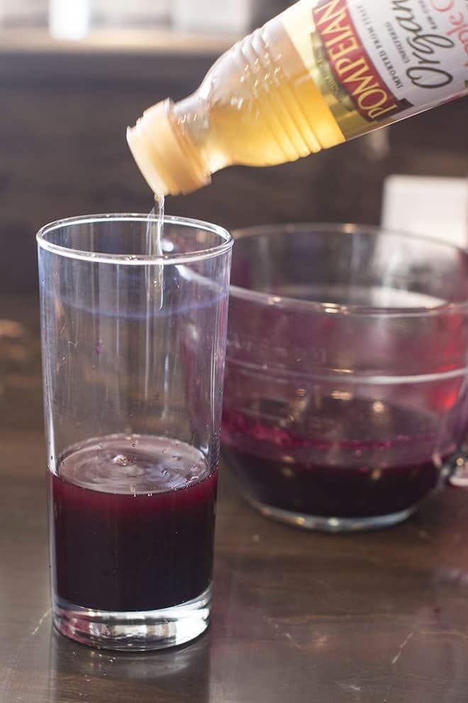 add cider vinegar