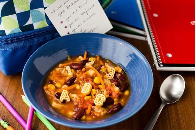 Recipe for Success Chicken Alphabet Soup