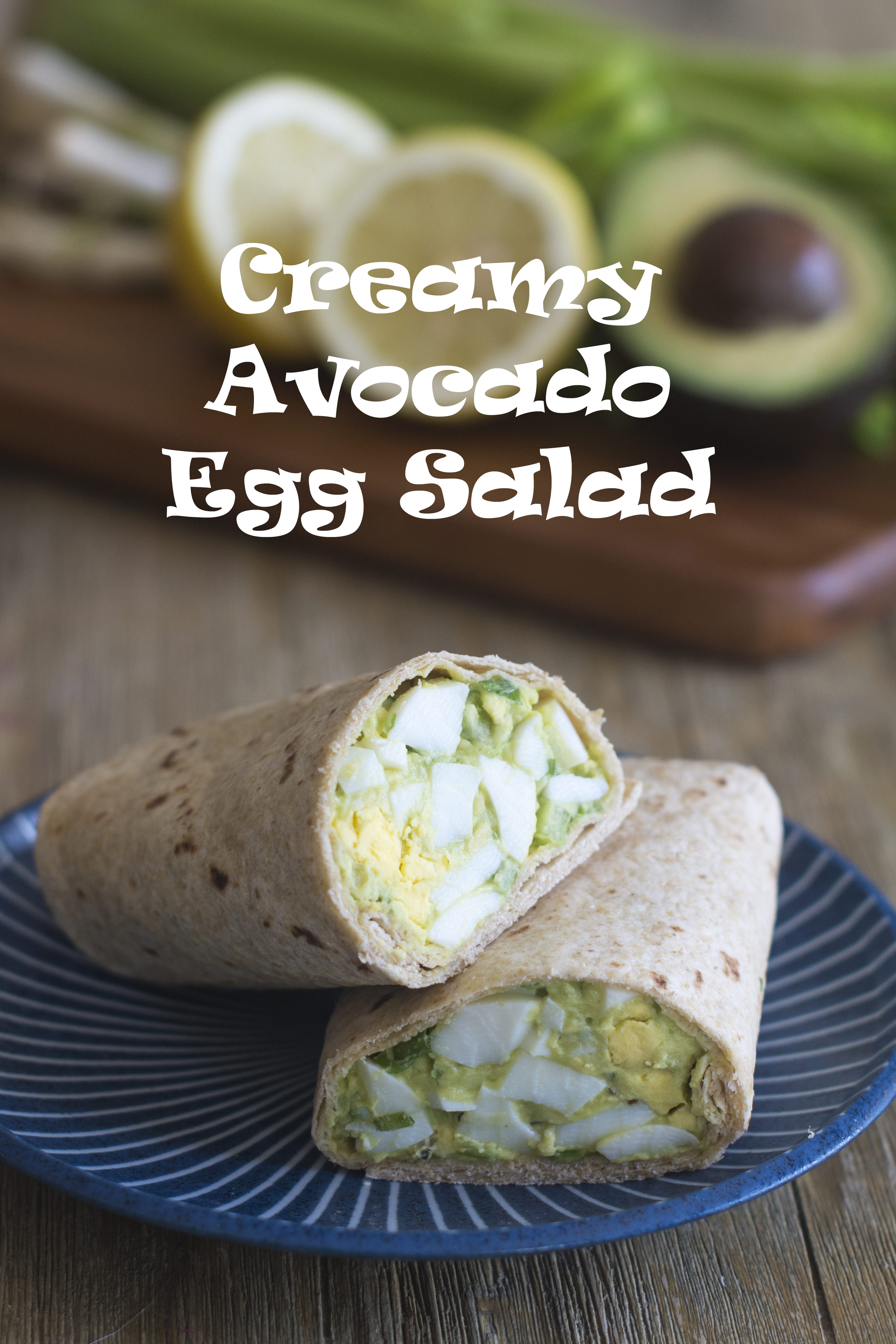 Swap out mayonnaise for avocado when making egg salad and chicken salad.