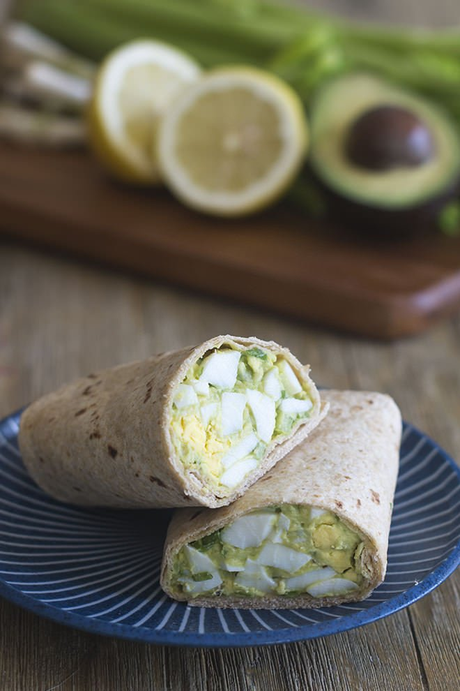 Did you know that you can swap avocado for mayonnaise when making egg salad and chicken salad? Here's how!