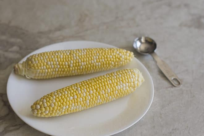 Microwaving corn on the cob