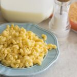 Homemade quick macaroni and cheese