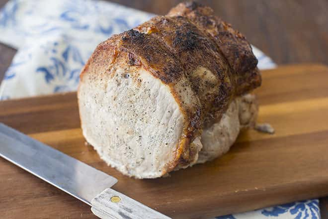 How to roast pork loin