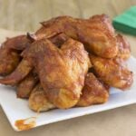 Ultimate BBQ Glazed Chicken Wings