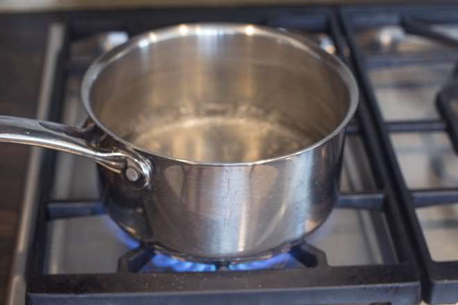 Bring 1 inch of water to a boil