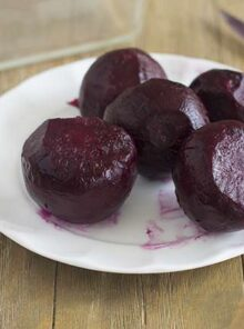 How to Roast Beets...psst...it's not meesy