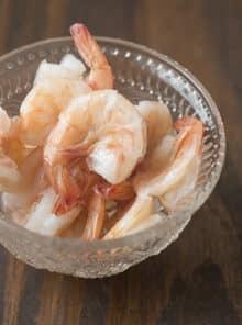 How to Poach Shrimp