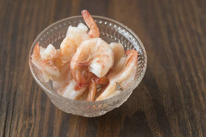 How to Poach Shrimp