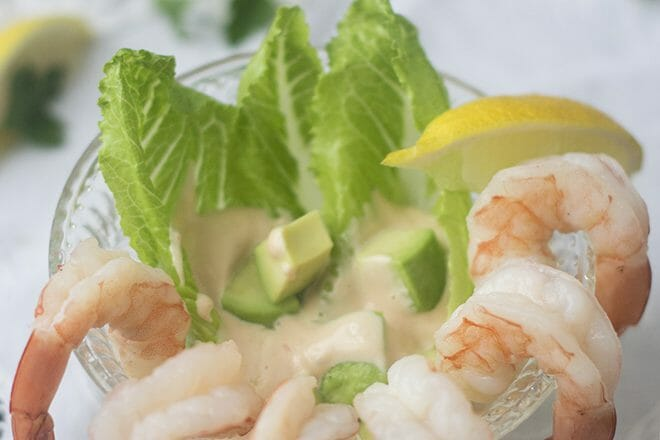 English Prawn Cocktail