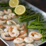 One Pan Shrimp and Asparagus