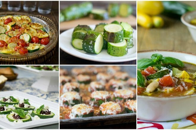 5 best zucchini recipes