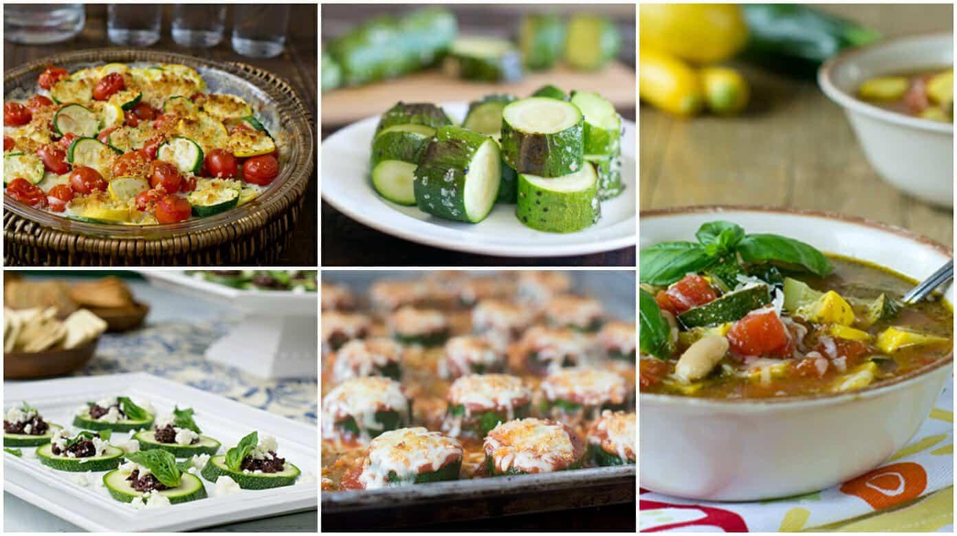 5 best zucchini recipes