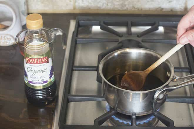 Heat over medium-low stirring frequently until it reaches a boil.