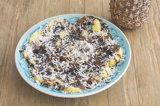 Vegan Pineapple Dessert