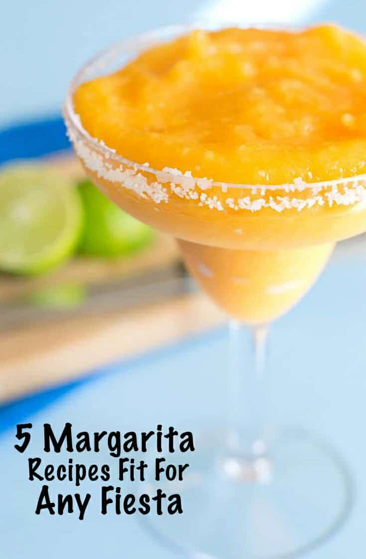 Having a fiesta? Here are 5 of the best margarita recipes that are sure to fit the bill for your party.