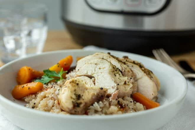 How long do you cook boneless skinless chicken breast in crock pot