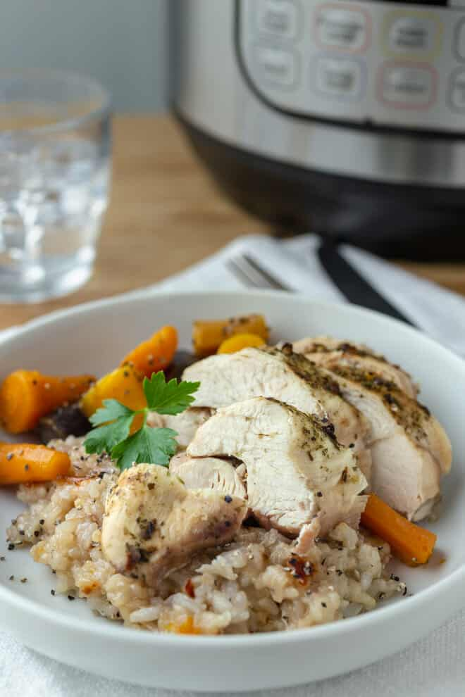 frozen chicken thighs instant pot