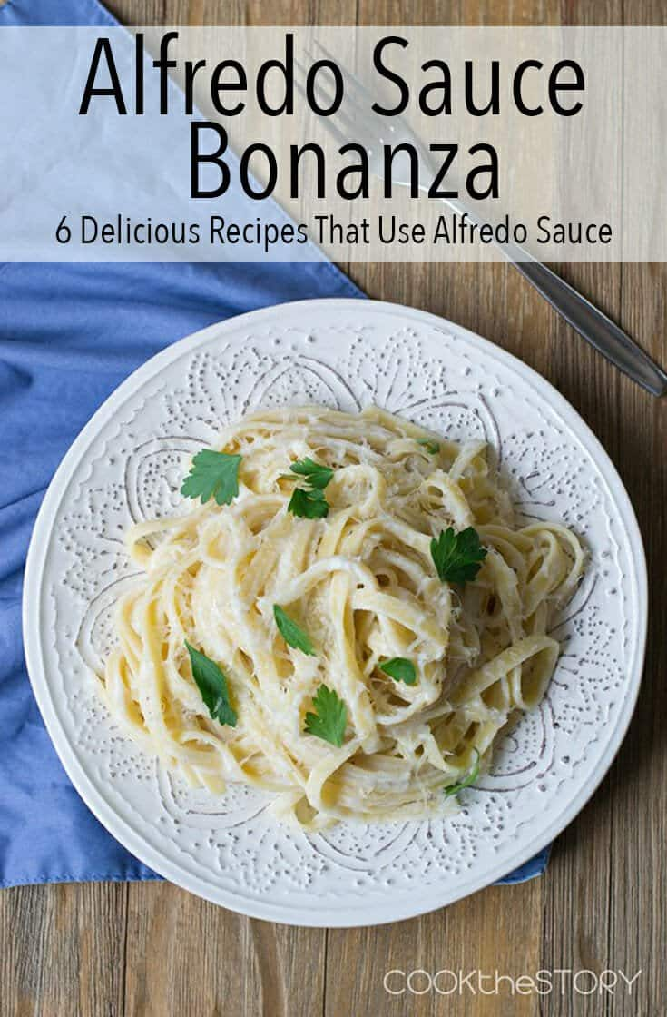 I'm throwing an Alfredo Sauce Bonanza and these 6 recipes all feature different takes on the beloved, creamy sauce. It's hard to pick a favorite here.