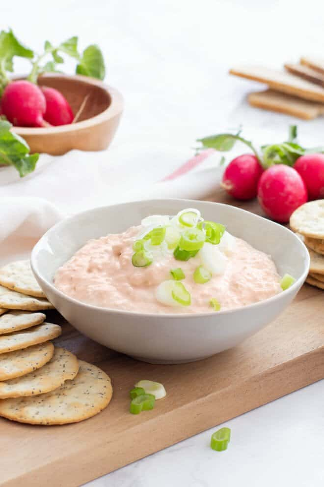 If you can push a button on a food processor, you can make this delicious dip in 10 minutes flat. And you'll love it.