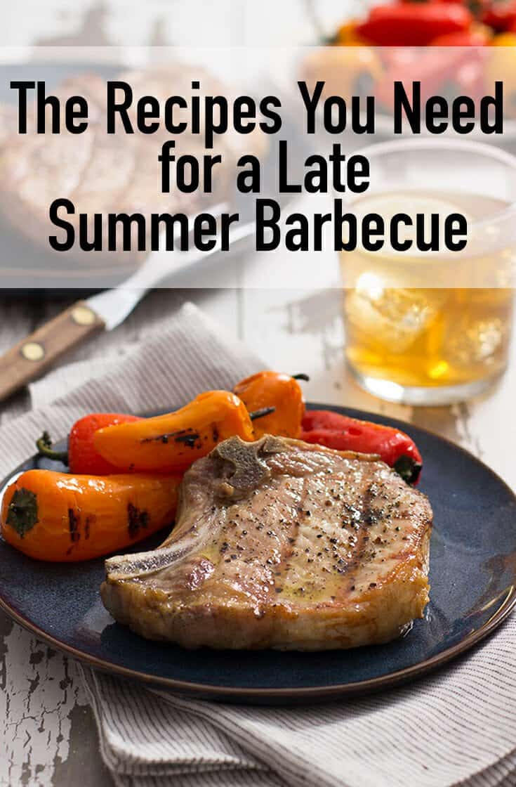 All of the recipes you need for a late summer barbecue are right here. Wow your guests with these easy, backyard friendly ideas.
