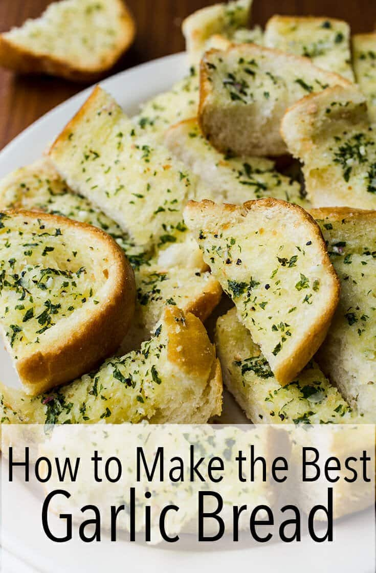 You're going to need this garlic bread recipe so you can serve it with spaghetti, soups and so much more. #garlic #bread #garlicbread #homemade #recipe #easyrecipe