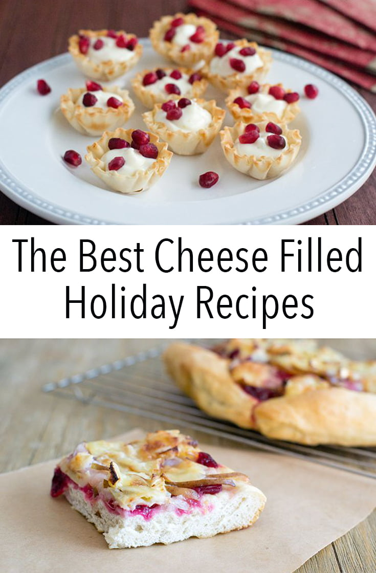 These are The Best Cheese Filled Holiday Recipes that you need for hosting and going to parties. Who doesn't love cheese, after all?