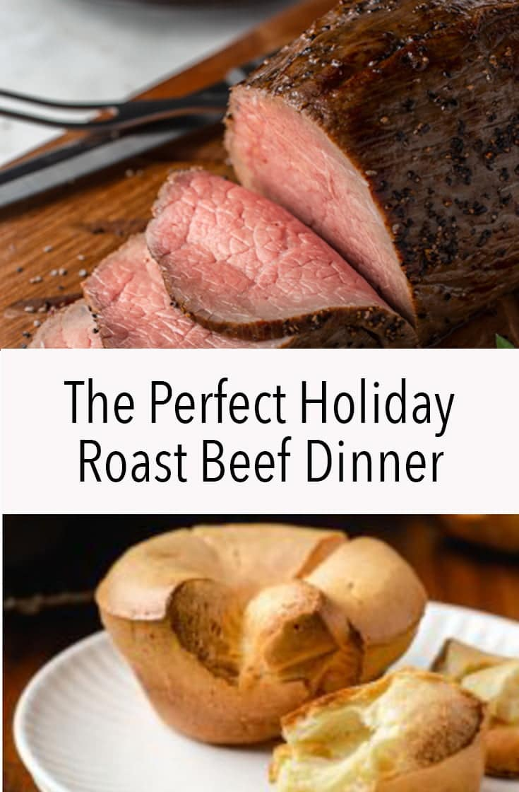 If you want something easy to make for the Holidays Roast Beef makes the perfect dinner because it\'s an economical cut of meat that you can roast slowly while you visit with friends and family.