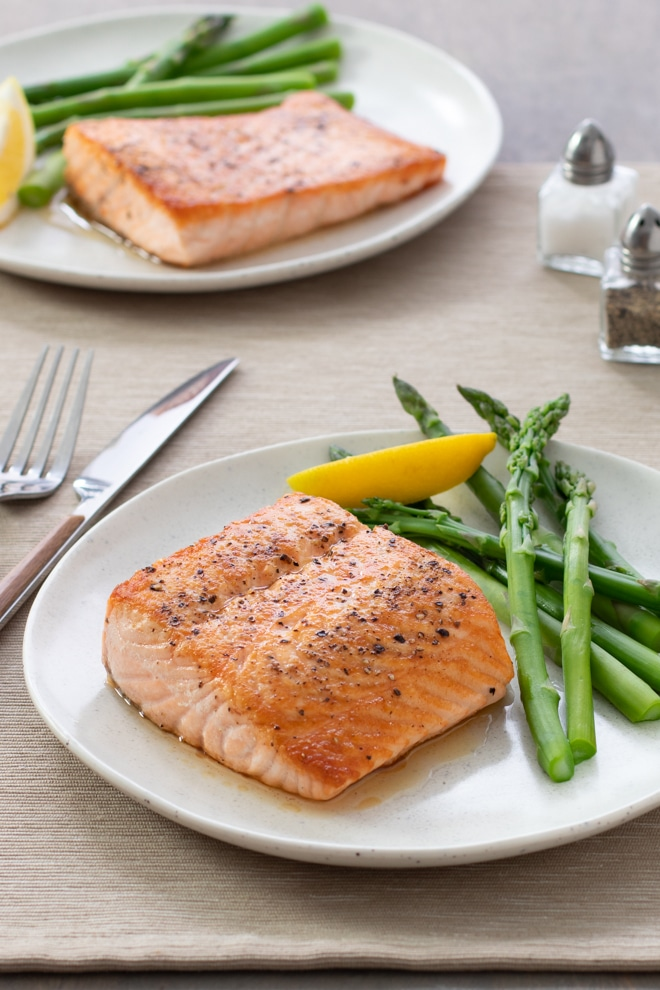 Here's how to cook salmon so it's perfectly crisp on the outside and tender and juicy on the inside—every time!