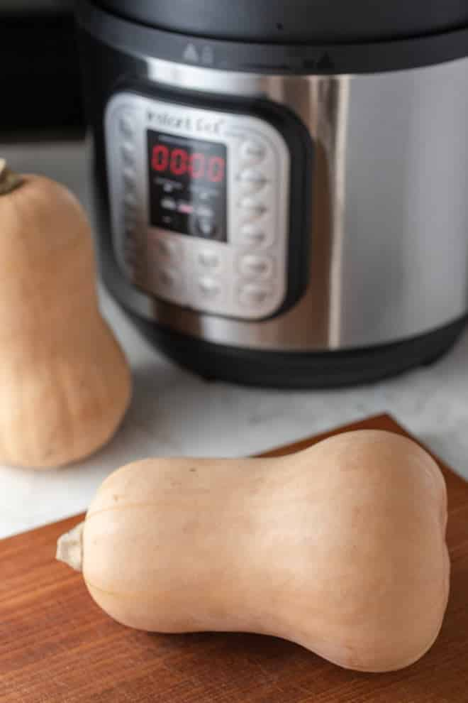 The Instant Pot has become an indispensable tool to get meals on the table with ease and speed. But it can also be used to prepare ingredients like butternut squash for soups, salads or purees with the same ease and speed.