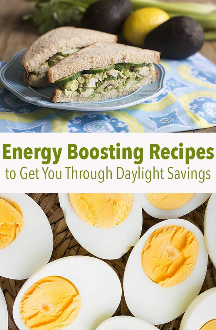 Energy Boosting Recipes to Get You Through Daylight Savings