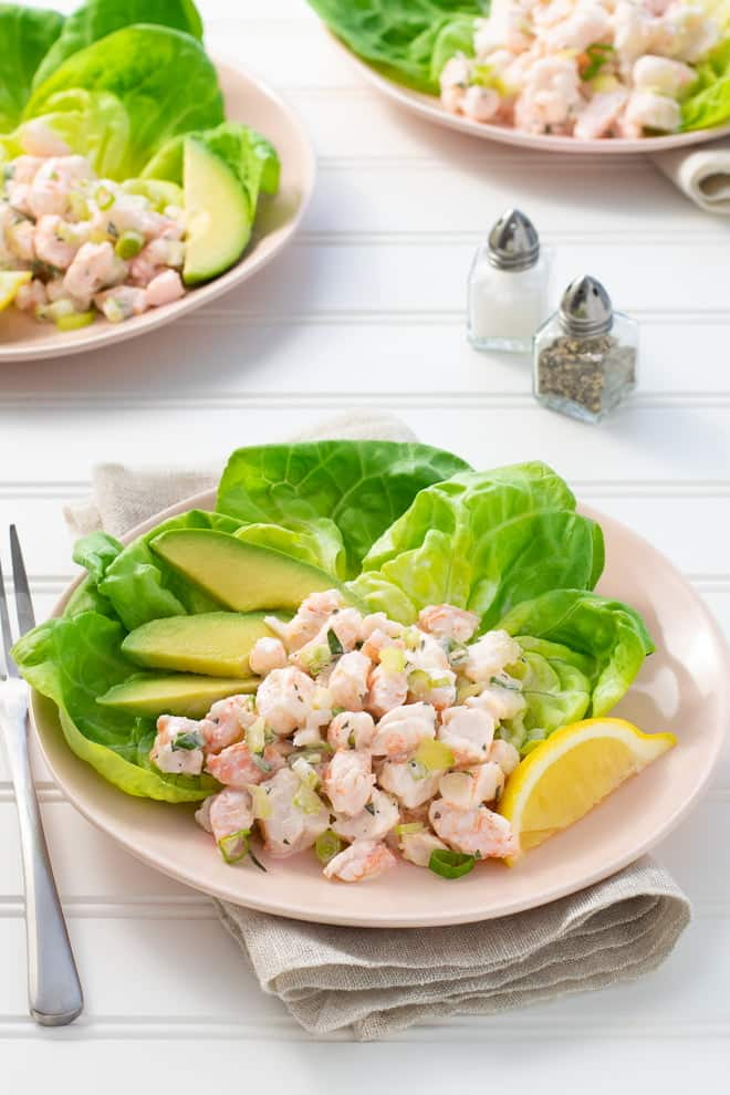 Looking for the best shrimp salad recipe? This one is simple, delicious, and packed with succulent morsels of shrimp—sweet!