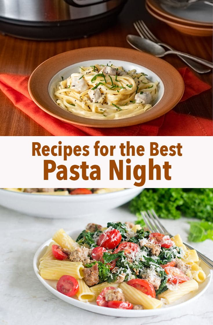There's nothing like pasta night for dinner. These recipes are the best of the best and are sure to satisfy your cravings.