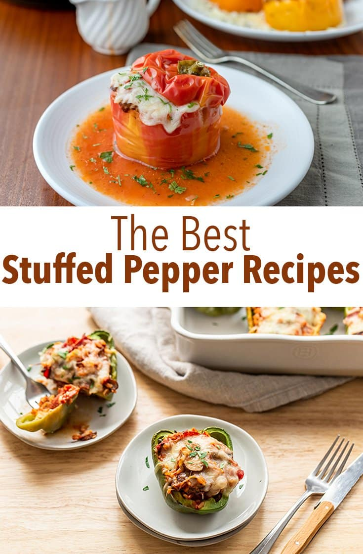 These are the best stuffed pepper recipes you will ever have. From creative to classic, you'll find your new favorite dinner right here.
