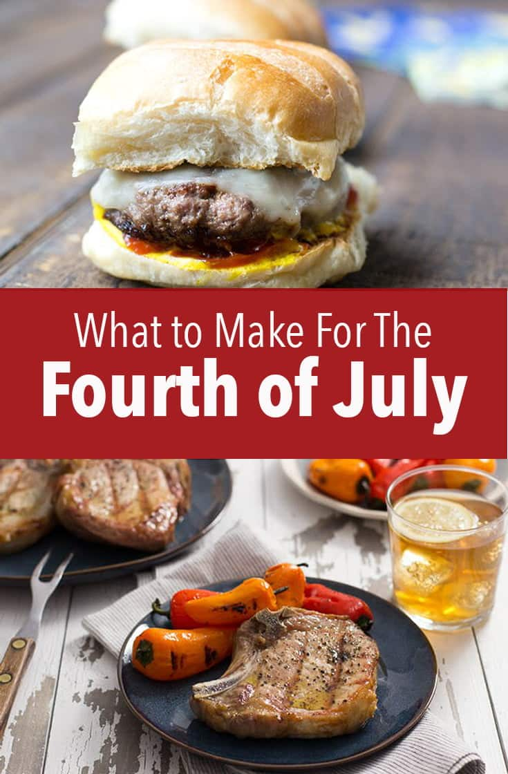 Here's a list of everything you need to make for The Fourth of July. From burgers to BBQ sauce, I have you covered.