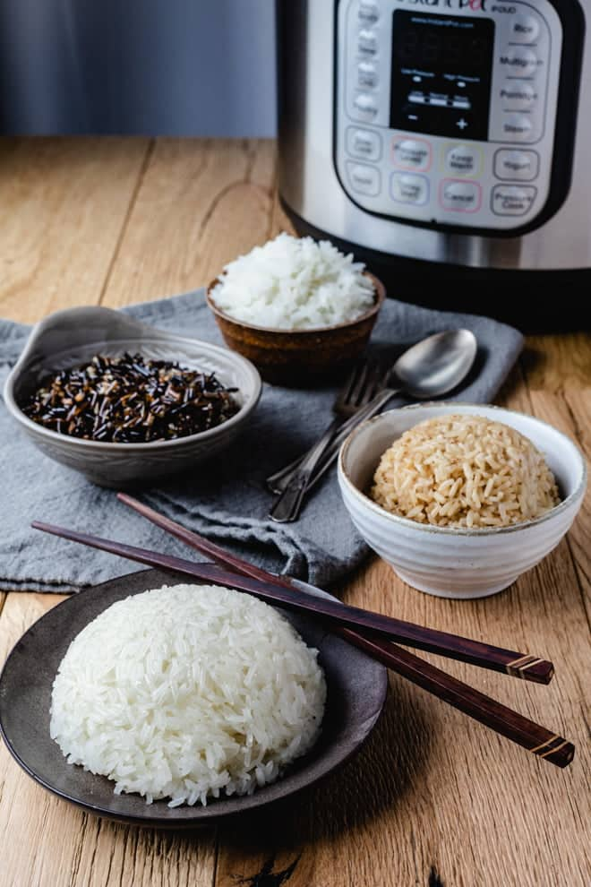 From jasmine to wild rice, your Instant Pot is the perfect appliance to make the perfect rice every time.