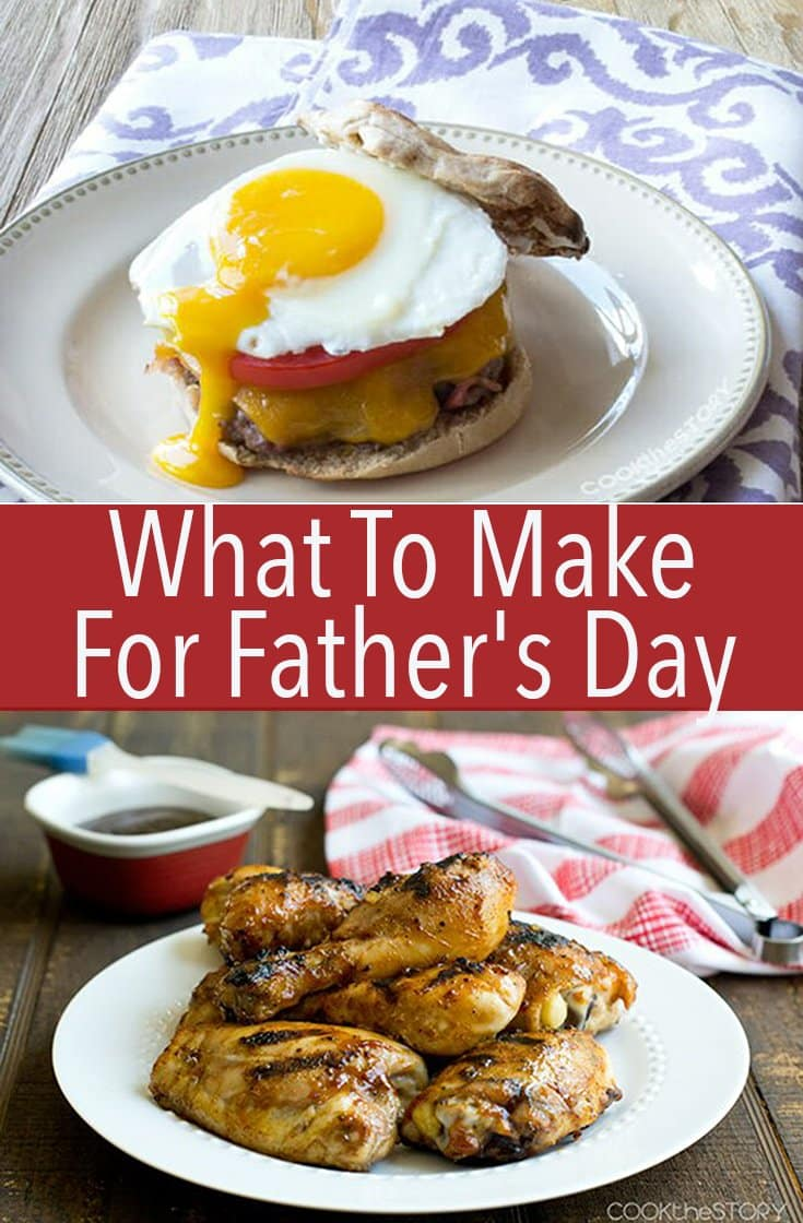 Wondering what to make for Father's Day? These recipes are exactly what dad wants from burgers to tacos to potatoes to bacon.