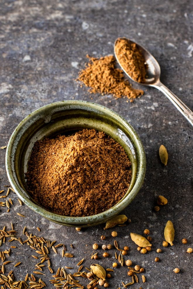 Making your own Garam Masala is simplified by using ground spices that you likely have in the pantry. If you're looking for a more traditional version, I have included that as well.