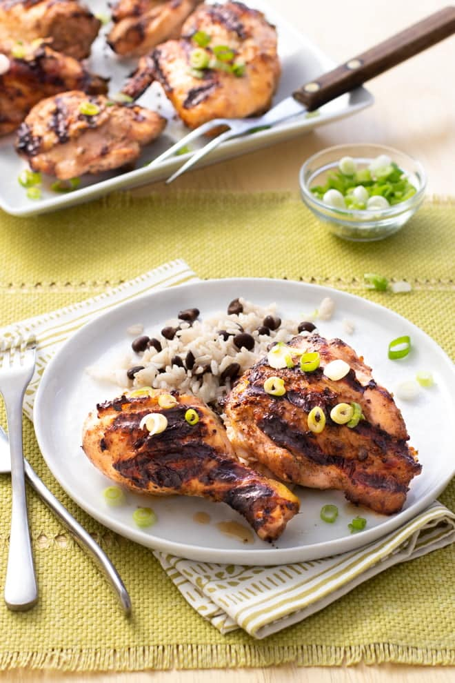 If you've never made Jerk Chicken, you're in for a surprise—it's really easy and reeeeeally good!