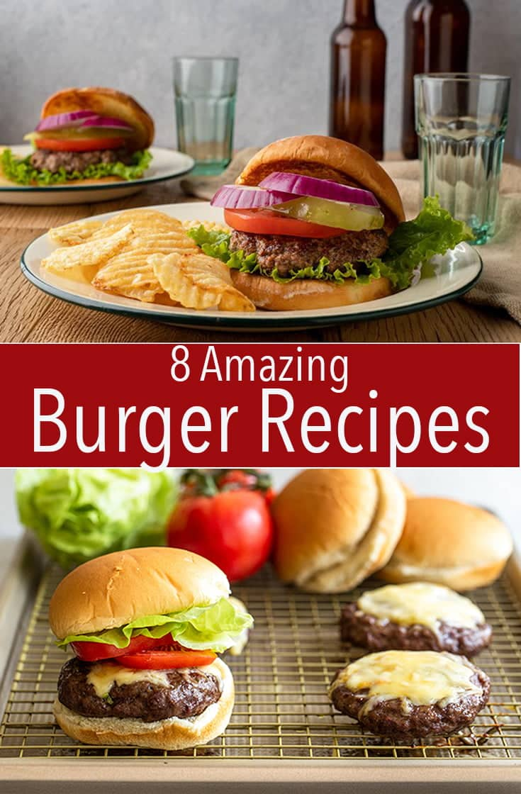 Try any of these juicy recipes from the best, big burger recipe roundup. Get the recipe for a beef, bison, turkey, or salmon burger.