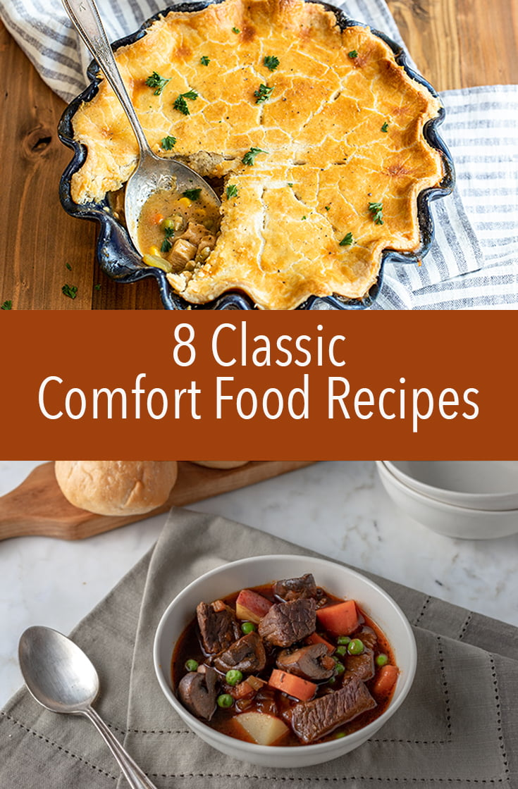 These classic recipes are comfort food at its finest. They will stick to your ribs and warm you from the inside out. The best part - they're easy to make.