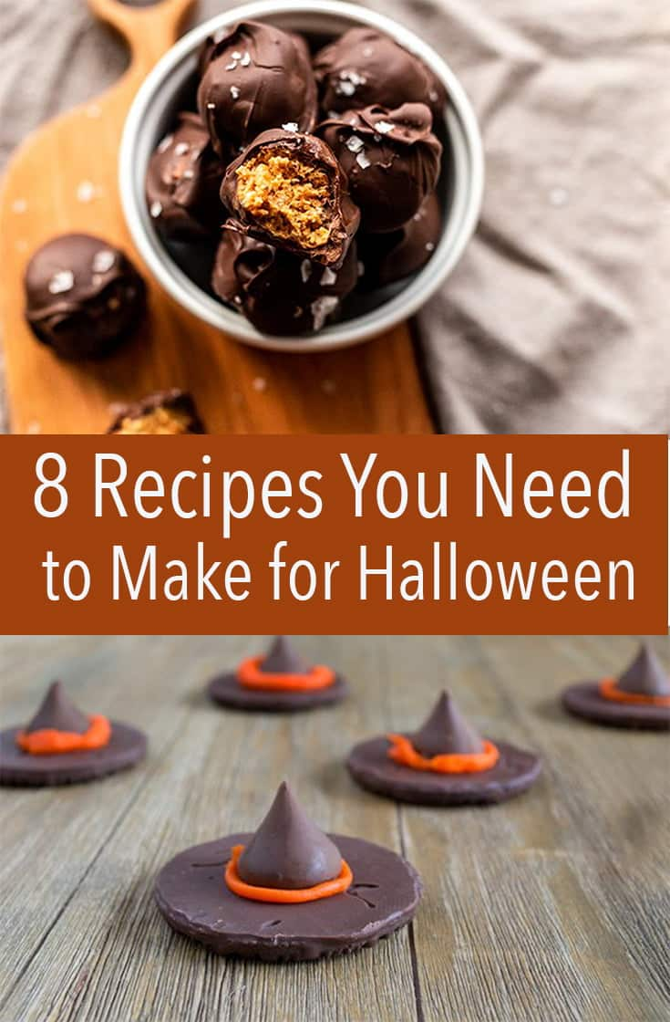 These are the 8 best recipes you can make for Halloween this year. Quick dinners, delicious dips, and easy desserts.
