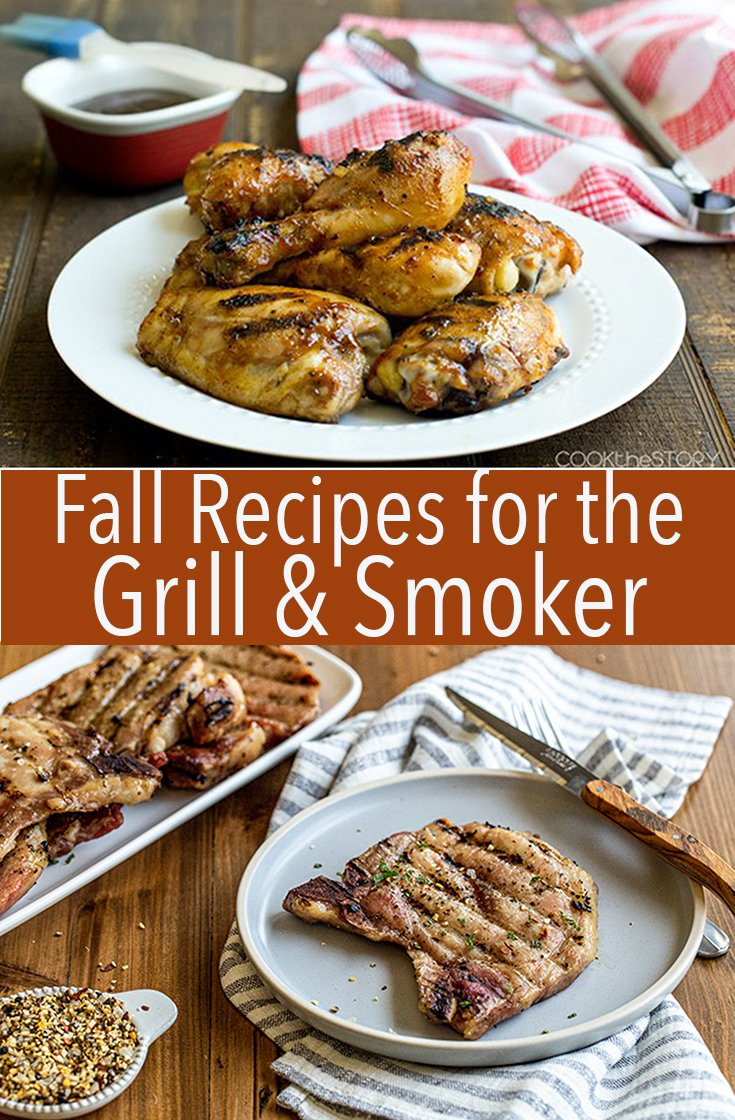 It's time to get grilling this weekend! You've still got time to soak up the sun and make some great smoked or grilled recipes this year!