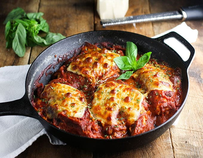 One-Pan Chicken Parmesan